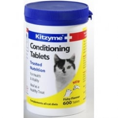 Bob Martin Kitzyme Conditioning Tablets for Cats 600 Pack