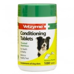 Vetzyme Conditioning Tablets For Dogs 100 Pack