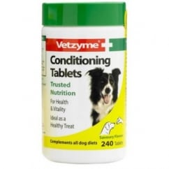 Vetzyme Conditioning Tablets for Dogs 240 Pack