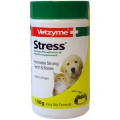 Vetzyme Stress Powder For Dogs & Cats 150g