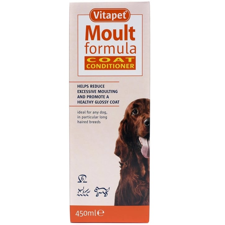 Bob Martin Vitapet Moult Formula Coat Conditioner For Dogs 450ml