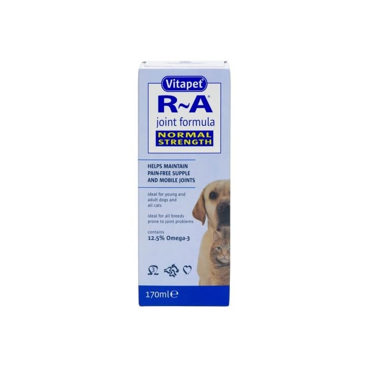 Bob Martin Vitapet R~A Supple Joint Formula For Dogs And Cats 170ml