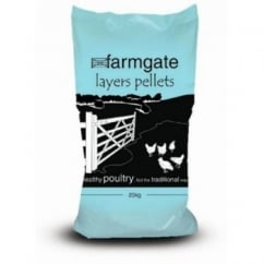 BOCM Pauls Farmgate Layers Pellets Poultry Feed 20kg