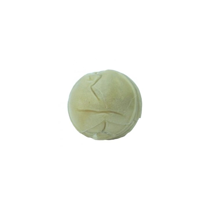 Bones Pressed Rawhide Ball Natural - 2