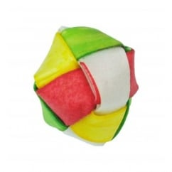Bones Rawhide Coloured Lattice Ball for Dogs
