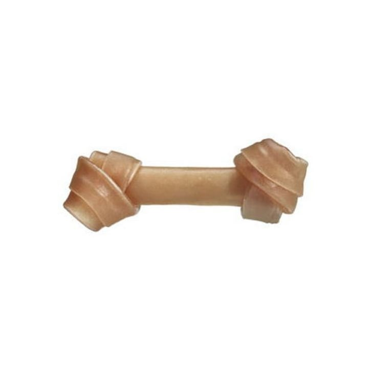Bones Rawhide Knotted Dog Bone 20