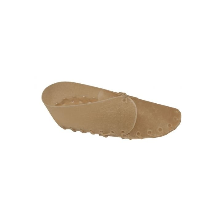 Bones Rawhide Laced Shoe Dog Chew - 8