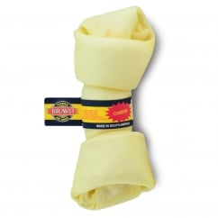 Knotted Bone Dog Chew Cheese 6