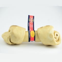 Peanut Butter Knotted Bone Dog Chew 8