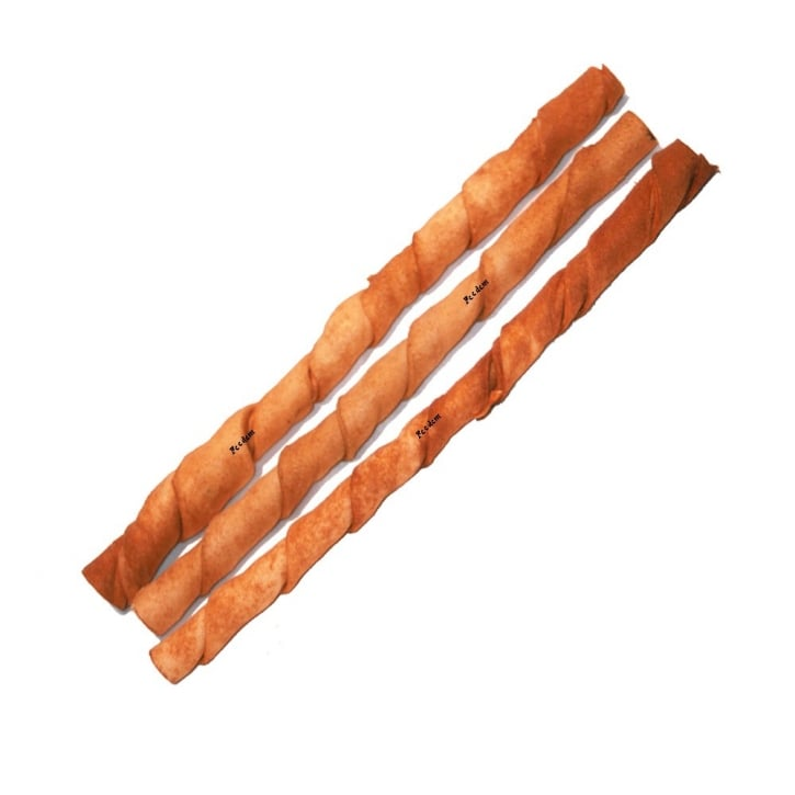 Bravo Peanut Butter Twisted Stick Dog Chew 10