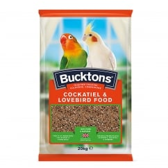 Bucktons Cockateil and Lovebird Food 20kg
