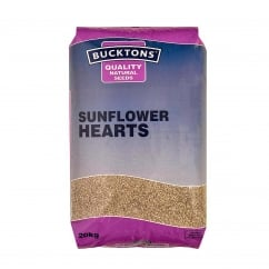 Sunflower Hearts Wild Bird Food 20kg