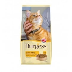 Burgess Adult Cat Rich in Chicken with Duck 1.5kg