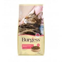 Burgess Adult Cat Rich In Scottish Salmon Food 1.5kg