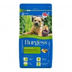 Burgess Adult Dog Food Lamb Free From 2.5kg