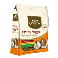 Burgess Country Value Fruity Nuggets For Guinea Pigs 1.5kg
