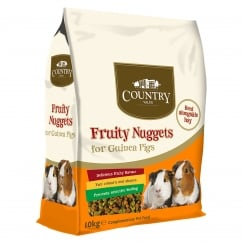 Burgess Country Value Fruity Nuggets For Guinea Pigs 10kg