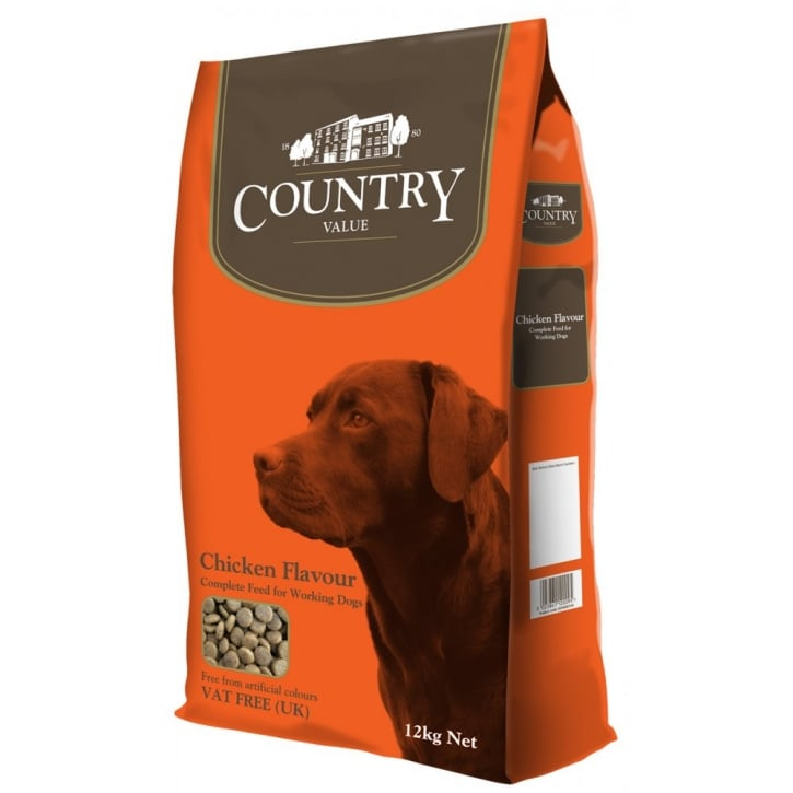 Burgess Country Value Working Dog Food with Chicken 12kg