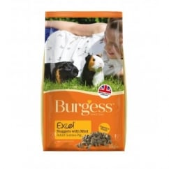 Burgess Excel Complete Guinea Pig Nuggets With Mint 2kg