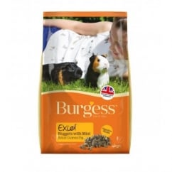 Burgess Excel Complete Guinea Pig Nuggets With Mint 4kg