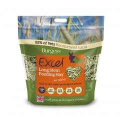 Excel Long Stem Feeding Hay For Rabbits 1kg