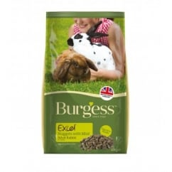 Burgess Excel Nuggets with Mint Adult Rabbit Food 2kg