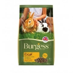 Burgess Excel Rabbit Adult Nuggets with Oregano 2kg