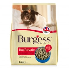 Burgess Rat Royale Compete Rat Food 1.5kg