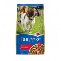 Burgess Rich In British Beef Adult Dog Food 2.5kg