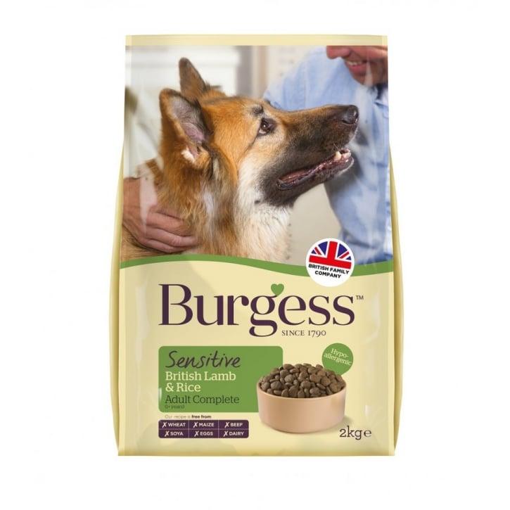 Burgess Sensitive Dog Food