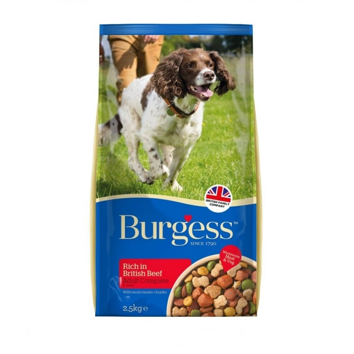 Burgess Supadog Beef Adult Dog Food 2.5kg