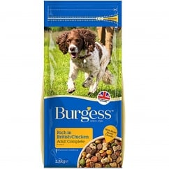 Burgess Supadog Chicken Adult Dog Food 2.5kg