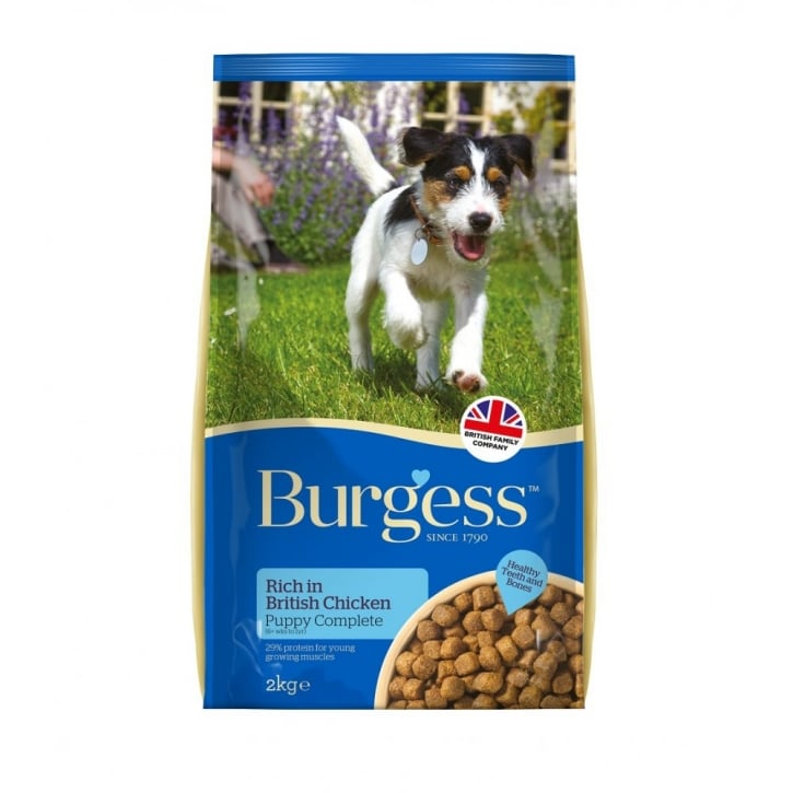 Burgess Supadog Complete Puppy Food Chicken 2kg