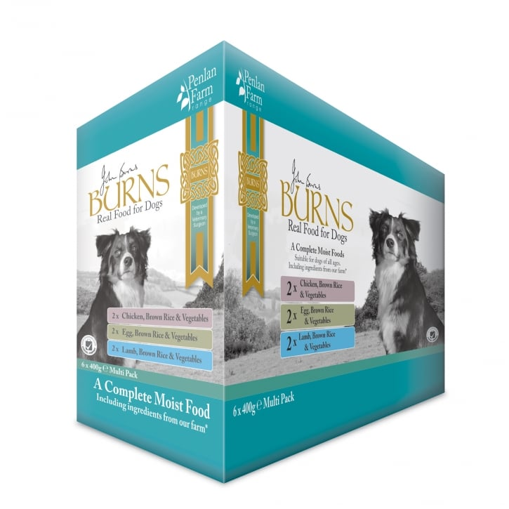 Burns Penlan Farm Multi Pack Wet Dog Food 6 x 400g