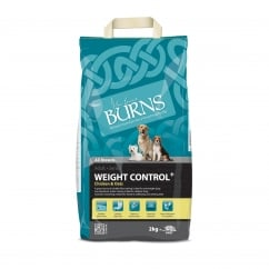 Weight Control Chicken & Oats Adult & Senior Dog Food 2kg