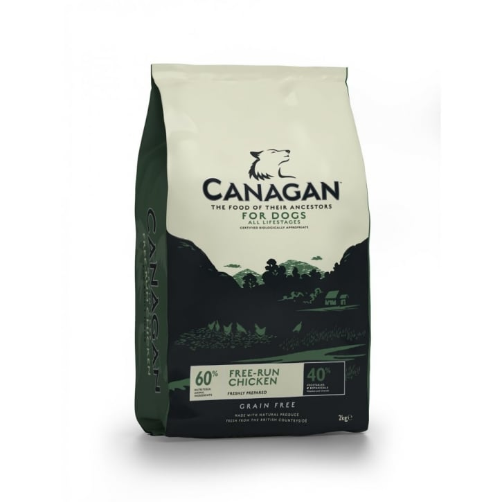 Canagan Free - Run Chicken Adult Dog Food 2kg