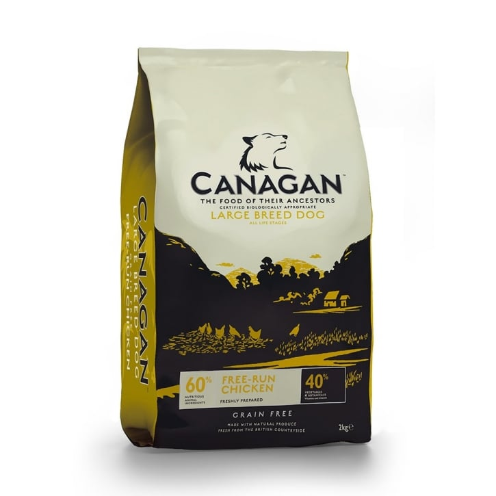Canagan Free-Run Chicken Adult Large Breed Dog Food 2kg