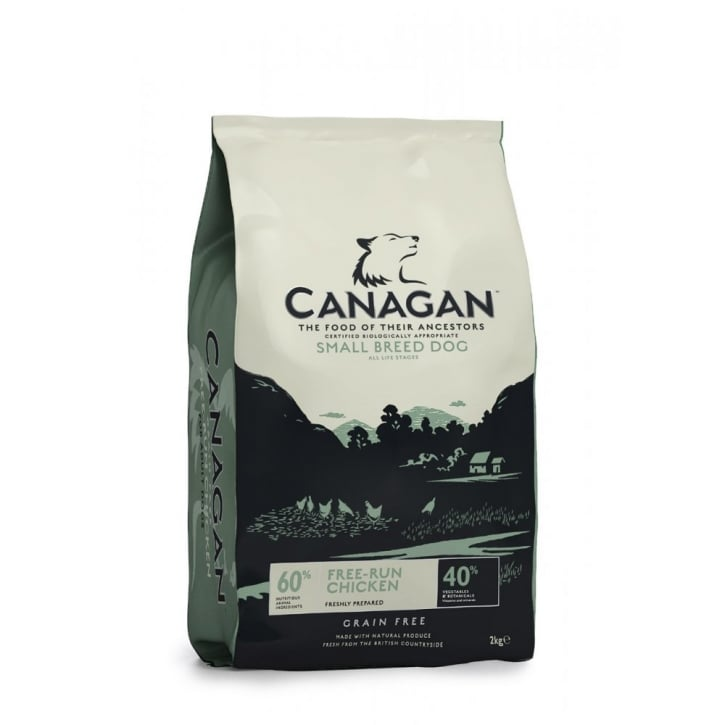 Canagan Free-Run Chicken for Small Adult Dogs 2kg