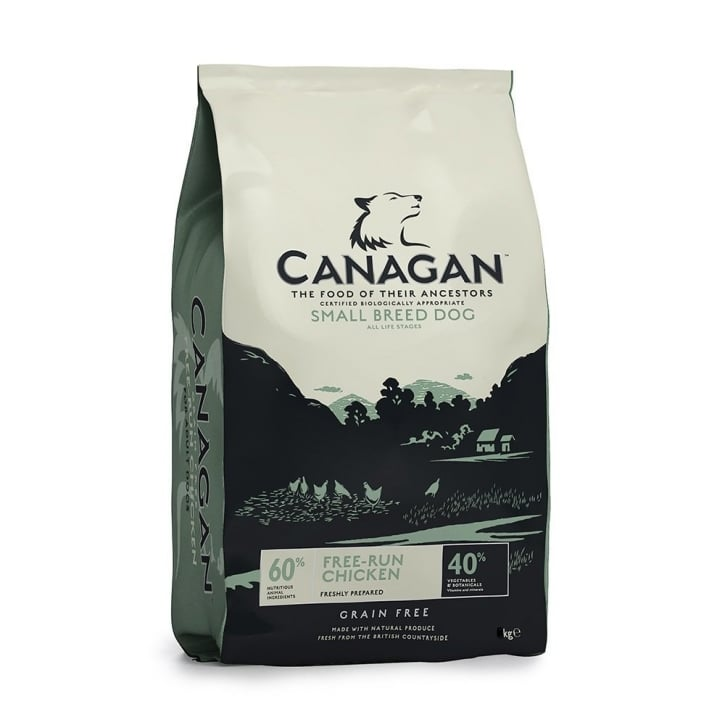Canagan Free-Run Chicken for Small Adult Dogs 6kg