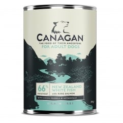 Canagan Grain Free New Zealand White Fish Wet Adult Dog Food 395g