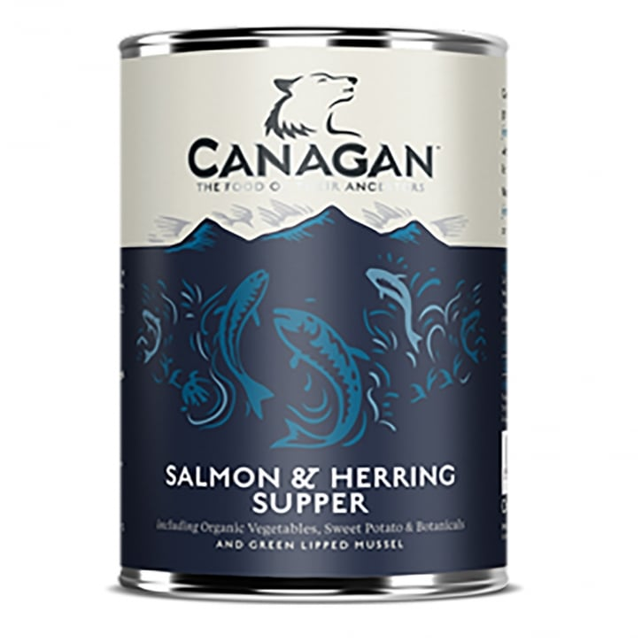 Canagan Salmon & Herring Supper Grain Free Wet Adult Dog Food 400g
