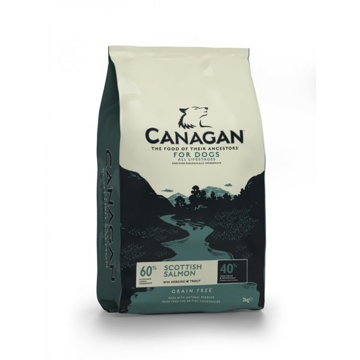 Canagan Scottish Salmon with Herring & Trout Adult Dog Food 2kg