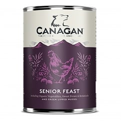 Senior Feast Grain Free Wet Senior Dog Food 400g