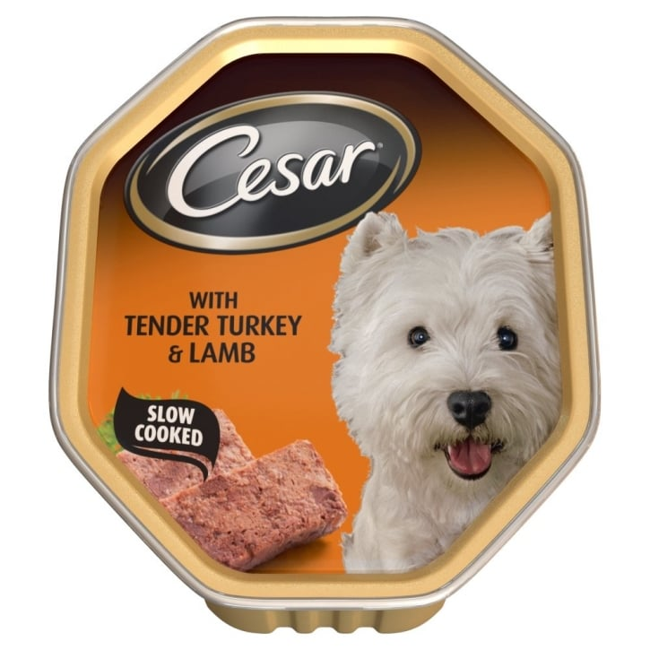 Cesar Tray with Tender Turkey & Lamb 14x150gm pack