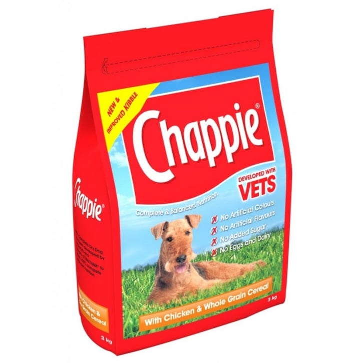 Chappie Adult Chicken & Wholegrain Cereal Dog Food 15kg