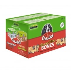 Chewdles Assorted Mini Bones Dog Biscuits 10kg