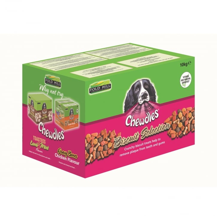 Chewdles Biscuit Selection Dog Biscuits 10kg