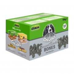Charcoal Enriched Bones Dog Biscuits 10kg