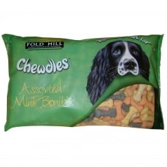 Chewdles Assorted Mini Bonibix Dog Biscuits 1.5kg
