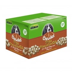 Chewdles Mini Marrowbone Rolls Dog Biscuits 12.5kg